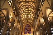 Trinity Church New York City Inside Stained Glass