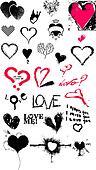 Heart texture icon