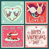 Cards for Valentine's day