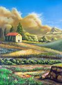Italian rural landscape