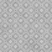 Gray and White Maltese Cross Symbol Tile Pattern Repeat Background