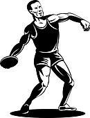 Winner  Athlete discus...