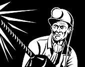 Miner portrait