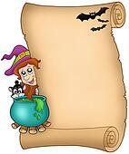 Halloween parchment 3