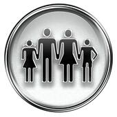 people icon grey