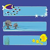 fish banners 1 no text