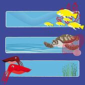 fish banners 4 no text