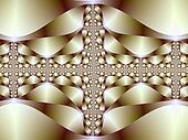 Fractal Bracelet Abstract