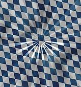 Bavaria Oktoberfest National Colors Design