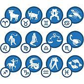Zodiac Icon Set