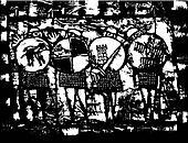 Four Saxon Knights