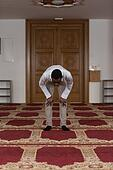 Humble Afro Muslim Prayer