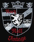 Heraldic Royal Emblem Shield