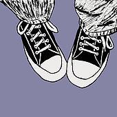 Leg Converse