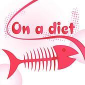 Fish bones diet