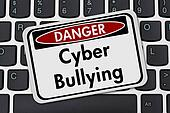 Cyber Bullying Danger Sign