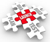 Launch Puzzle Pieces Idea Build Plan Test Starting New Business