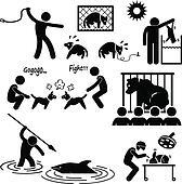 Animal Cruelty Abuse by Human