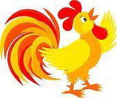 rooster rooster farm rooster cock rooster rooster black vector