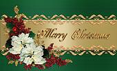Christmas Card elegant greeting