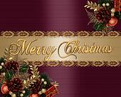 Christmas Background elegant satin