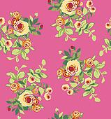 seamless flower print