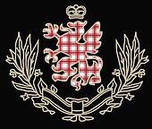 classic heraldic element graphic artwork