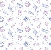 Seamless Birthday Background