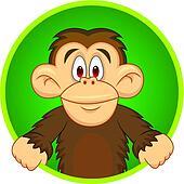 Chimpanzee carton