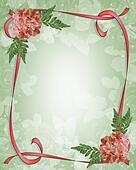 Floral Border Design Azaleas