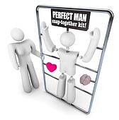 Build the Perfect Man Model Kit