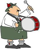 Oktoberfest Drummer