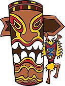Witch Doctor Tiki Idol