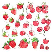 Cherry & Strawberry