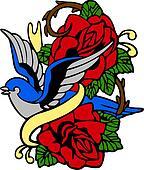 Classic tribal emblem