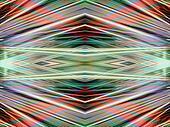 Art Deco kaleidoscope background