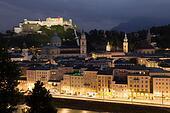 Salzburg in the night