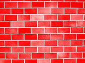 red blocks wall background