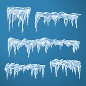 Icicles Clip Art - Royalty Free - GoGraph