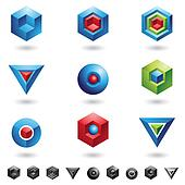 Spheres, Cubes, triangles