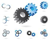 2d and 3d cogs
