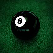 pool ball number eight