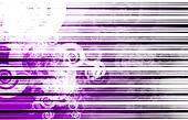 Purple Ray of Light