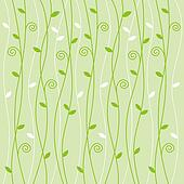 Green vine pattern