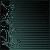 Elegant background with ornament border