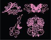 flower butterfly symbol