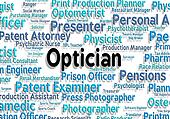 Optician Job Indicates Recruitment Eyes And Opticians