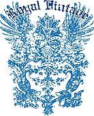 Heraldic Wing Design