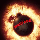 Warfare Bomb Indicates Military Act