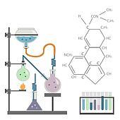 chemical laboratory test tube formula